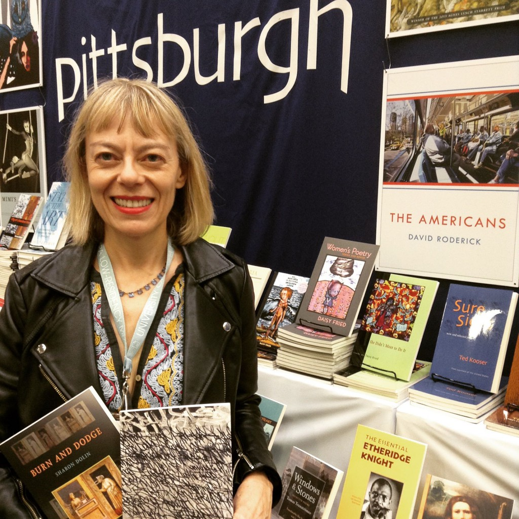 "Sharon Dolin with her first two collections. Look out for her upcoming book with us, ""Manual for Living."""