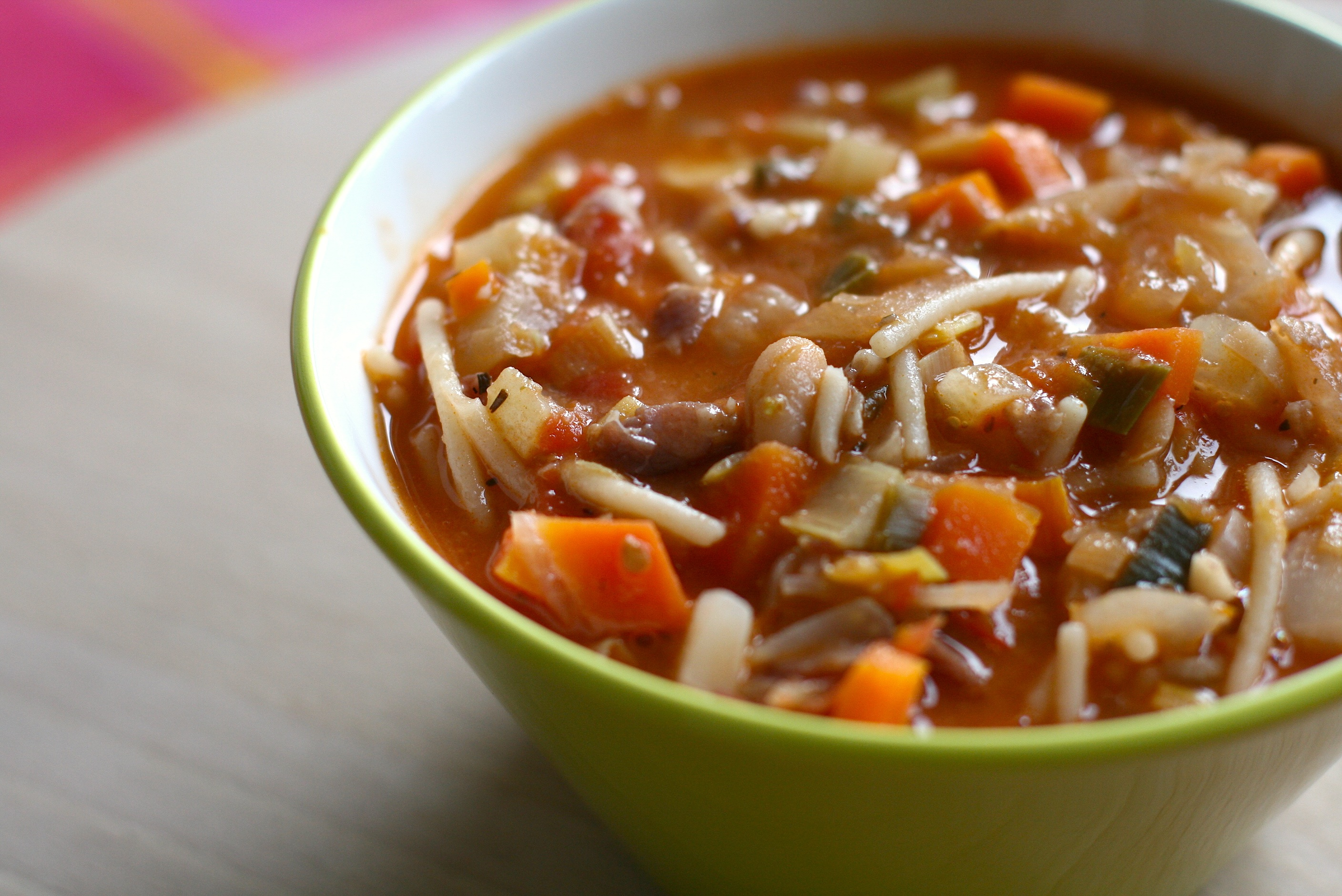 Poet Barbara Hamby's Deep South Minestrone Recipe