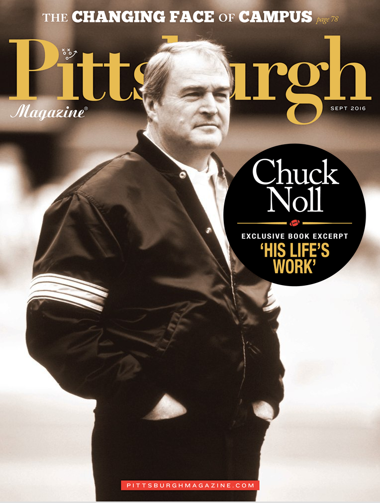 Pittsburgh Magazine Cover Chuck Noll