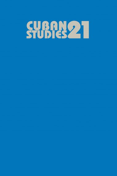 Cuban Studies 21