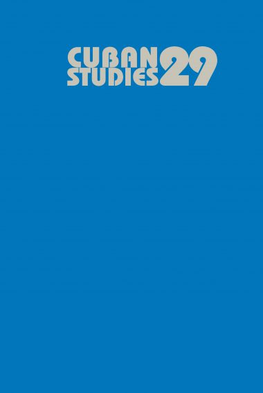 Cuban Studies 29