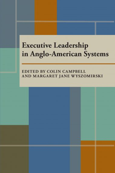 Executive Leadership in Anglo-American Systems