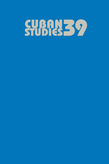 Cuban Studies 39