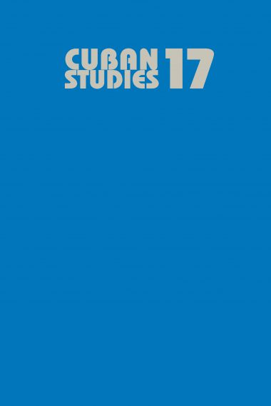 Cuban Studies 17