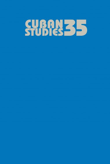 Cuban Studies 35