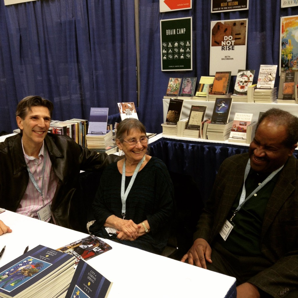 Richard Michelson, Alicia Suskin Ostriker and Afaa Michael Weaver