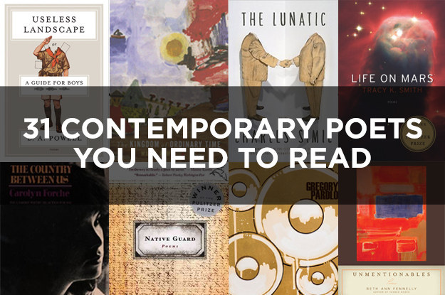 BuzzFeed Books Lists Our Poets as Essential Reading