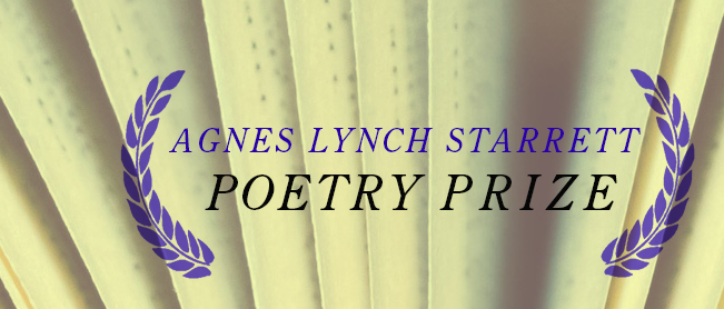 Last Call for the 2015 Starrett Poetry Prize!