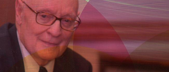 Q & A with prolific philosopher Nicholas Rescher