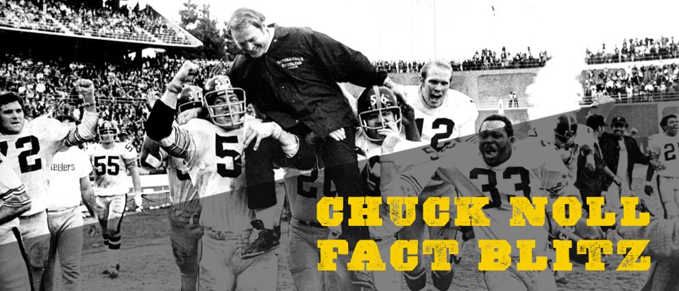 Legendary Steelers Coach Chuck Noll Fact Blitz
