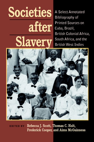 Societies After Slavery