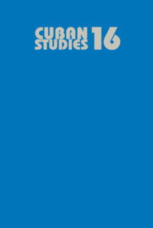 Cuban Studies 16