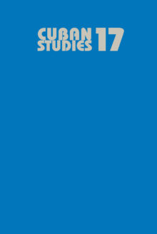Cuban Studies 17