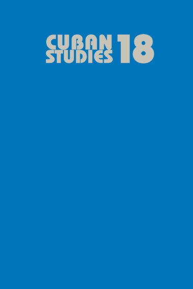 Cuban Studies 18