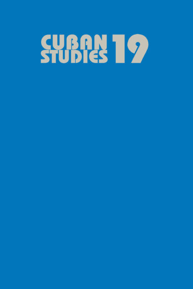 Cuban Studies 19