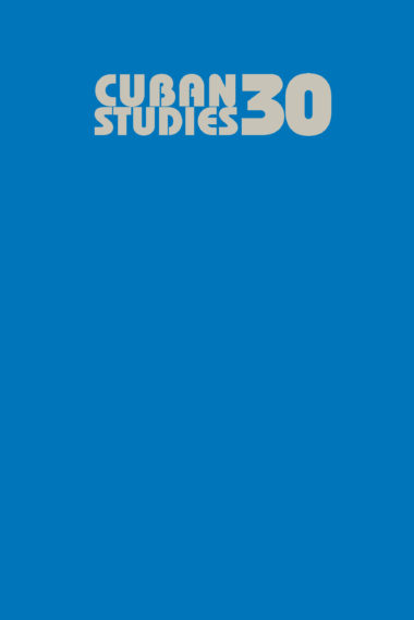 Cuban Studies 30