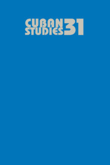 Cuban Studies 31