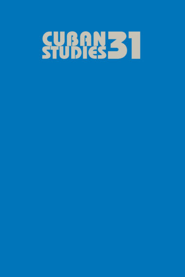 Cuban Studies 31