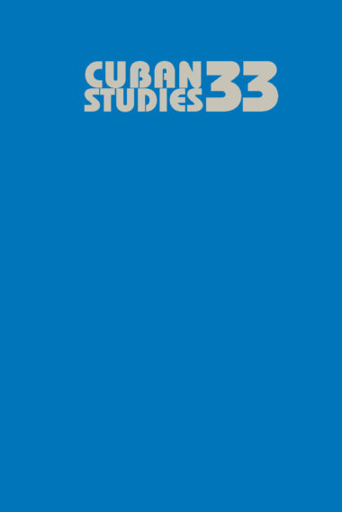 Cuban Studies 33