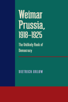 Weimar Prussia, 1918–1925