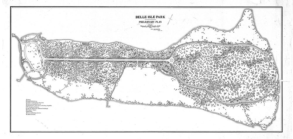 Belle Isle Park in Detroit