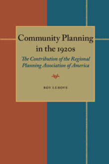 Community Planning in the 1920s